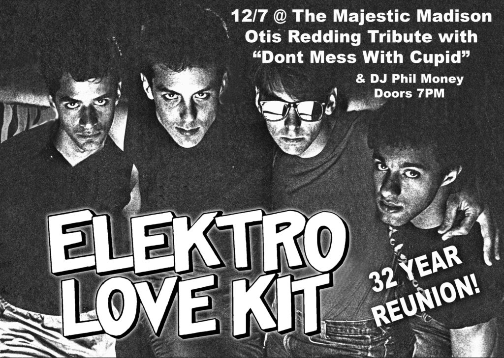 Wally w/ Electro Lovekit (32 Year Reunion!) – Dec 7 – Madison, WI at Majestic Theatre