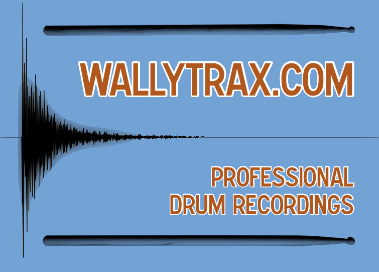 WallyTrax - Professional Drum Recordings